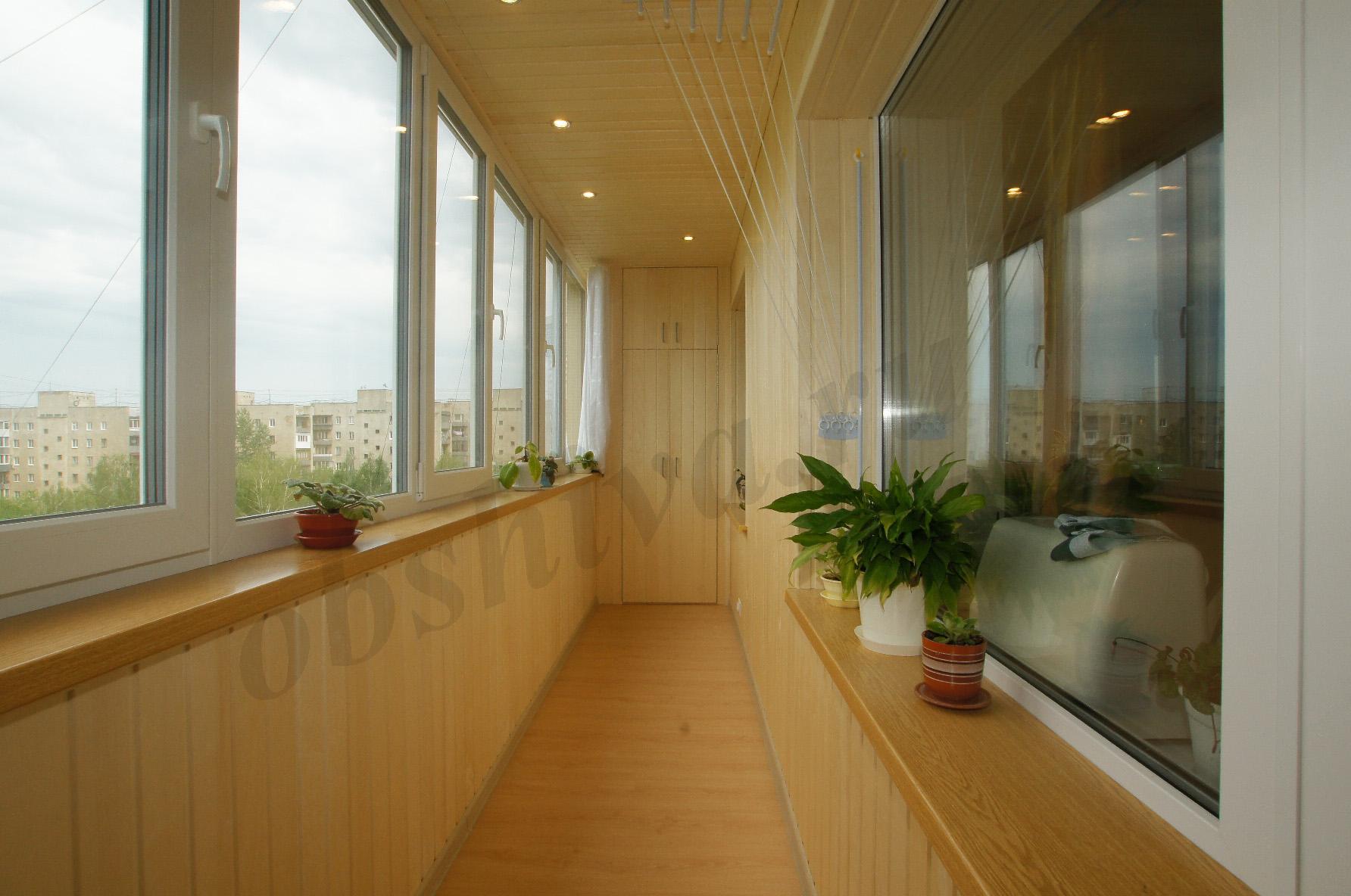 Балконы отделка фото москва.